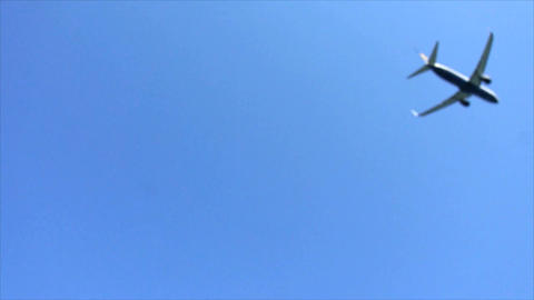 passenger plane Footage