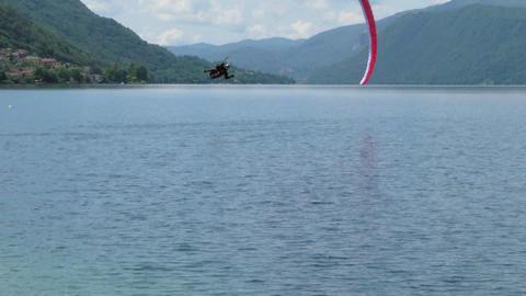 acrobatic paragliding landing 13 Footage