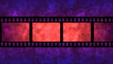Movie Film Particle Background Animation - Loop Pu Animation