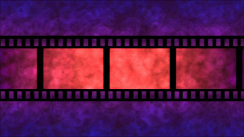 Movie Film Particle Background Animation - Loop Pu Stock Video Footage