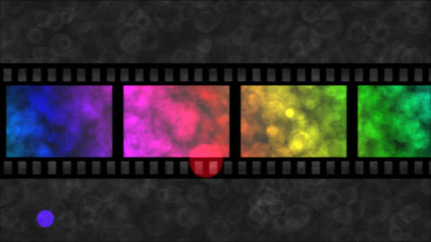Movie Film Particle Background Animation - Loop Ra CG動画素材