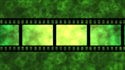 Movie Film Particle Background Animation - Loop Gr Stock Video Footage