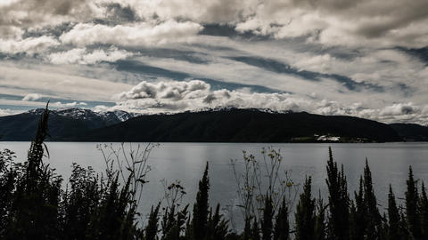 Landscape Timelapse, Sognefjord, Norway Stock Video Footage