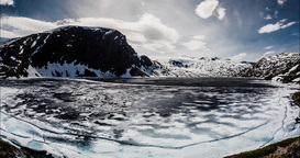 4K Landscape Timelapse, Djupvatnet, Norway Footage