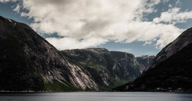 4K Landscape Timelapse, Hardangerfjorden, Norway Footage
