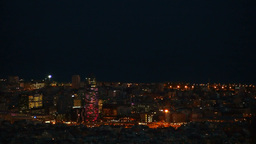 Torre Agbar in Barcelona Footage