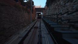 Vallvidrera Funicular Stock Video Footage