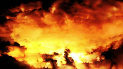 Fantasy Clouds Loop Animation
