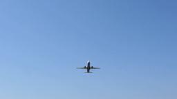 passenger plane Stock Video Footage