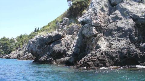 greece coast Stock Video Footage