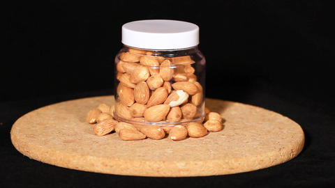 Almonds Footage