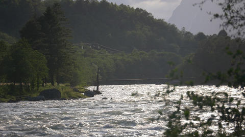 1080p, Norway, Stream, River Footage