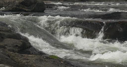 4K, Norway, flowing river stream Footage