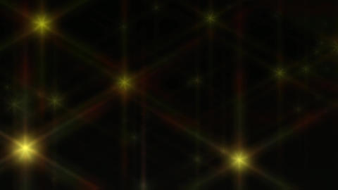 Animation of bright shining Stars Stock Video Footage