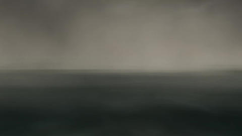 Animation of Fog over Water Stock Video Footage