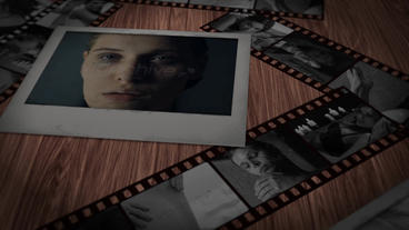 Dramatic Filmstrip Intro Apple Motion Template