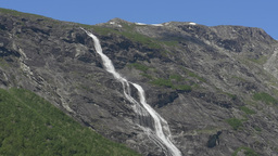 1080p, Waterfall, Mardalsfossen, Norway Footage