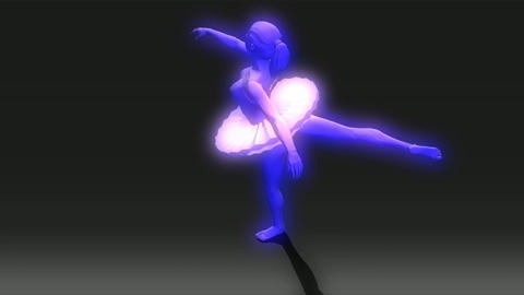 Animation of a Ballet Dancer Animation