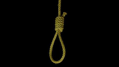 Hanging noose Footage