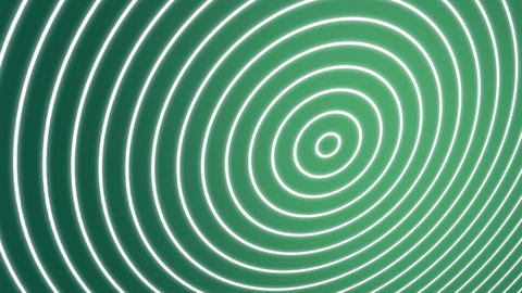 Spiral Waves Green Animation
