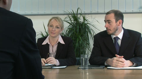 Colleageues Working together Stock Video Footage