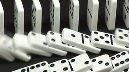Dominoes Falling Footage