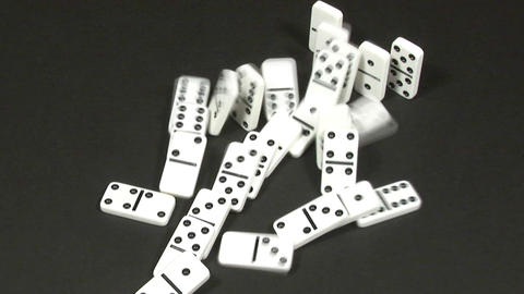 Dominoes Falling 26 Footage