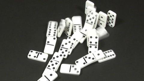 Dominoes Falling 26 Footage