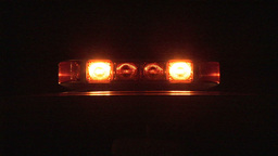 Stock Footage Warning Lights Footage