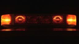Stock Footage C.U. Warning Lights Footage