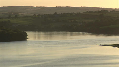 Stock Footage Tranquil River stock footage