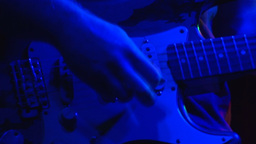 Stock Footage Guitar Playing Footage