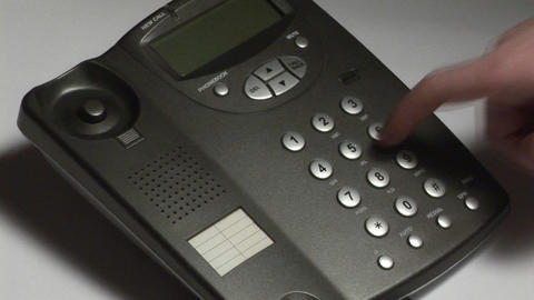 Stock Footage Telephone Live Action