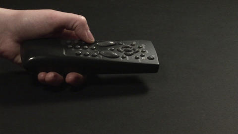 Stock Footage Remote Control Stock Video Footage