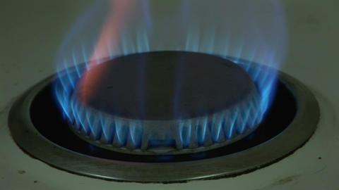 Stock Footage Of Burning Gas stock footage