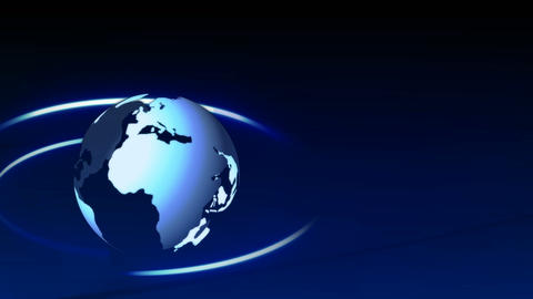 Stock Animation of the World Stock Video Footage