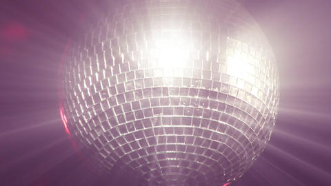 Stock Footage of a Disco Ball Footage