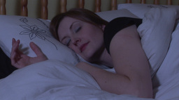 Stock Footage of a Woman Sleeping Stock Video Footage