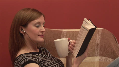 Stock Footage of a Person Relaxing Stock Video Footage