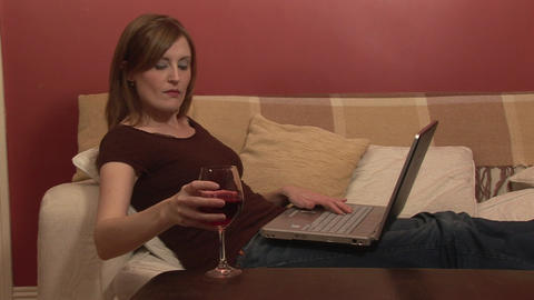 Stock Footage of Working from Home Stock Video Footage