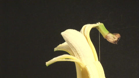 Stock Footage of a Banana Live Action