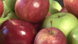 Stock Footage of Apples Stock Video Footage