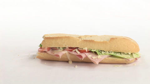 Stock Video Footage of Sandwich Stock Video Footage