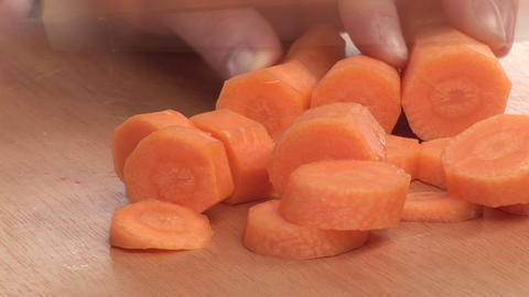 Stock Footage of a Carrot Being Peeled Footage