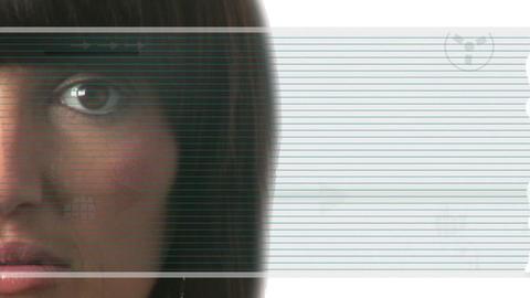 Futuristic Concept Stock Video Footage