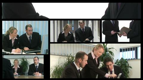 Teamwork Business Montage Footage
