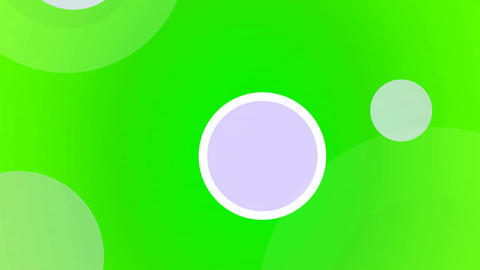 Flying Discs green Seamless Animation