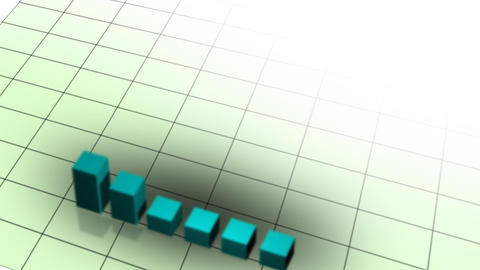 Graph and grid Stock Video Footage