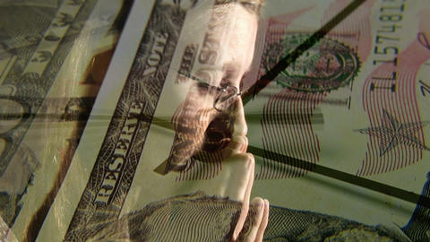Money worries 2 Footage