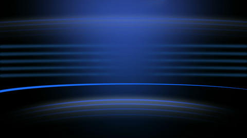 Blue Stroke Burst Seamless Animation